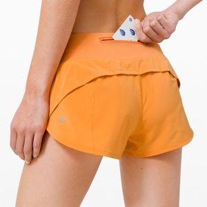 NWT Lululemon Speed up Shorts